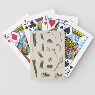 Musical instruments belonging to negro slaves (col bicycle playing cards