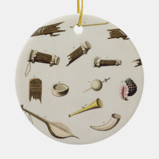 Musical instruments belonging to negro slaves (col christmas ornament