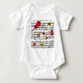 musical instruments copy.pdf baby bodysuit