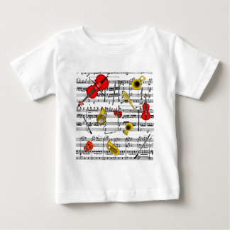 musical instruments copy.pdf baby T-Shirt