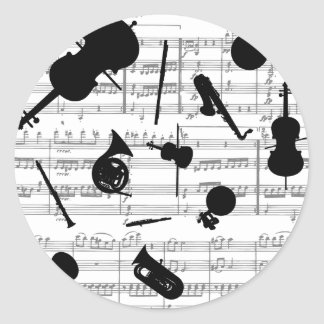 musical instruments grayscale copy.pdf round sticker