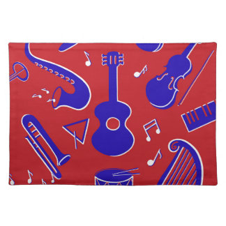 Musical Instruments Placemat