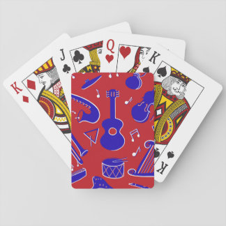 Musical Instruments Playing Cards