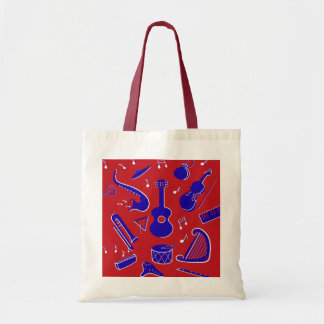 Musical Instruments Tote Bag