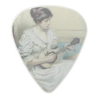 Musical interlude, 1917 acetal guitar pick