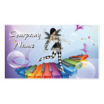 Musical Keyboard Faerie Pack Of Standard Business Cards