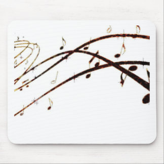 Musical Lava Notes Products Mouse Pad