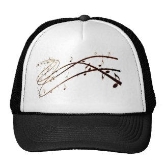 Musical Lava Notes Products Trucker Hat