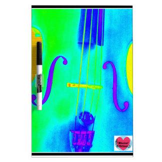 Musical Lifetimes Cello Music Dry Erase Board