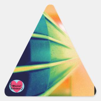 Musical Lifetimes Cello Triangle Sticker