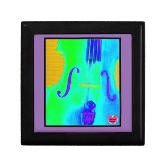 Musical Lifetimes Green Cello Jewellery Box