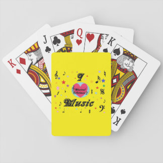 Musical Lifetimes 'I Love Music' Deck Of Cards
