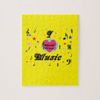 Musical Lifetimes 'I Love Music' Jigsaw Gift Jigsaw Puzzle