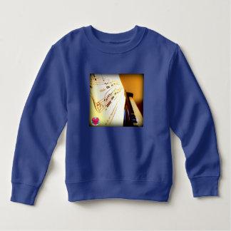 Musical Lifetimes Kids' Piano Keys Sweatshirt