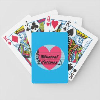 Musical Lifetimes Original Deck Of Cards