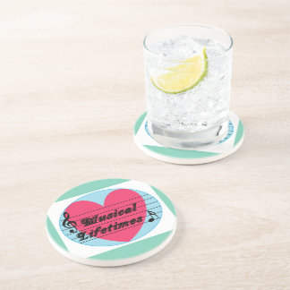 Musical Lifetimes Original Drink Coaster