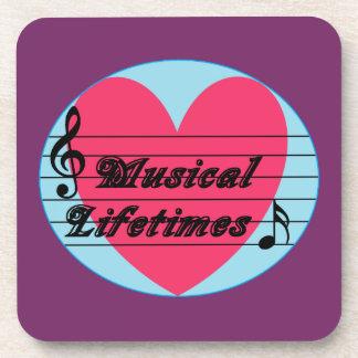 Musical Lifetimes Original Drinks Coaster