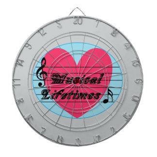 Musical Lifetimes Original Music Dart Board