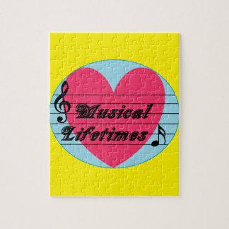 Musical Lifetimes Original Music Jigsaw Puzzle