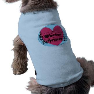 Musical Lifetimes Original Pet Dog Jacket Shirt
