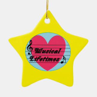 Musical Lifetimes Original Star Ornament