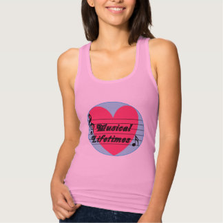 Musical Lifetimes Original Woman's Vest T-Shirt