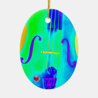 Musical Lifetimes Oval Cello Hanging Decoration