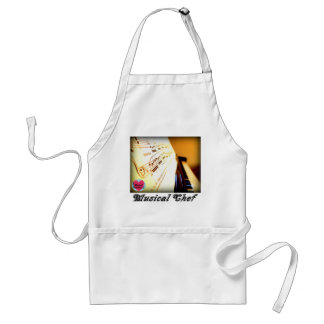 Musical Lifetimes Piano Keys Cooking Apron