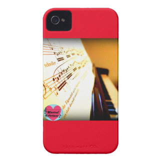 Musical Lifetimes Piano Keys iPhone 4 Phone Case