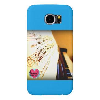 Musical Lifetimes Piano Keys Samsung Galaxy Case