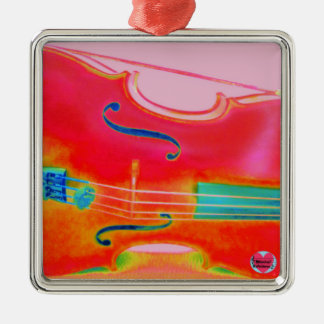 Musical Lifetimes Red Cello Hanging Decoration