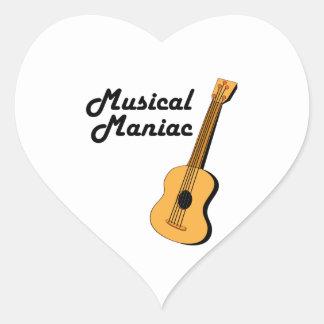 Musical Maniac Sticker