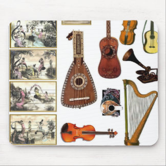Musical moments mouse mat
