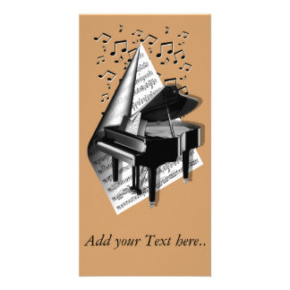Musical  moments - Piano Card