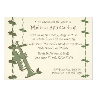 Musical Nature/ Trumpet Card