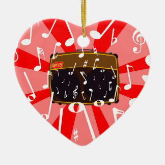 Musical Noise Christmas Ornament