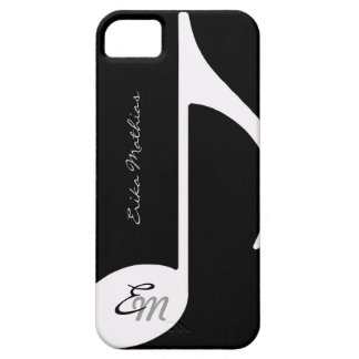 musical note ~ add initial iPhone 5 cases