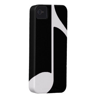 musical note ~ black Case-Mate iPhone 4 case