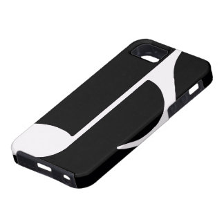 musical note ~ black iPhone 5 cover