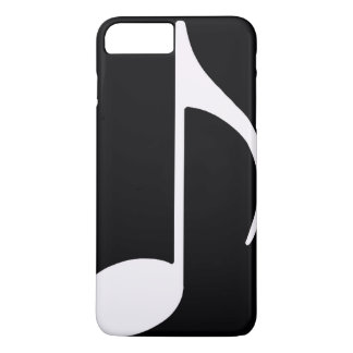 musical note ~ black iPhone 8 plus/7 plus case