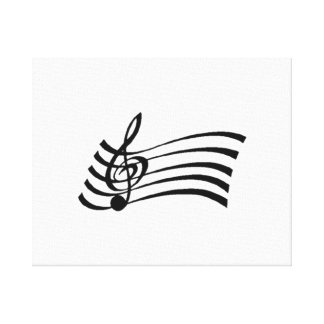 Musical Note Canvas Print