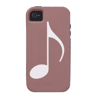 musical note graphic symbol iPhone 4/4S cover
