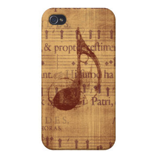 Musical Note iPhone 4 Case