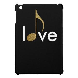 musical-note love-word iPad mini cover