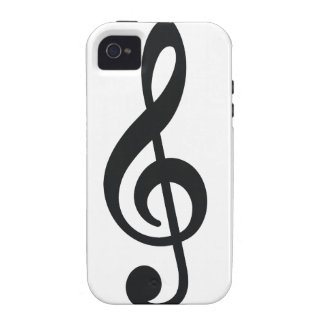 musical note note treble key iPhone 4/4S covers