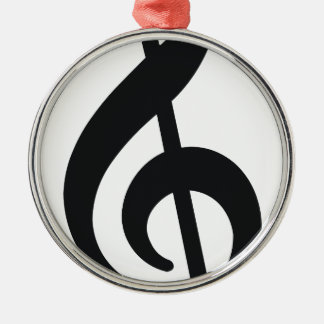 musical note note treble key christmas ornaments