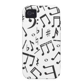 Musical Note Pattern Case-Mate iPhone 4 Case