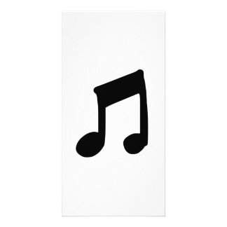Musical Note Photo Card Template