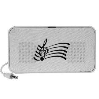 Musical Note Mini Speakers