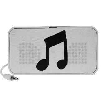 Musical Note Speaker System